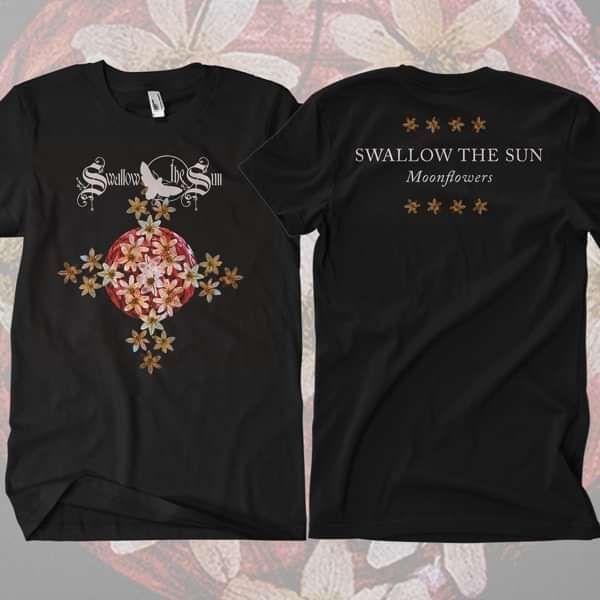Swallow The Sun - 'Moonflowers' T-Shirt - Swallow The Sun