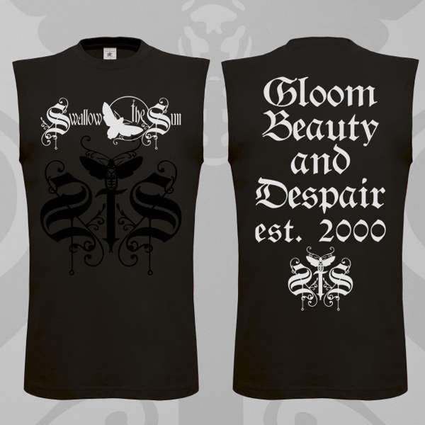 Swallow The Sun - 'Old School' Sleeveless T-Shirt - Swallow The Sun