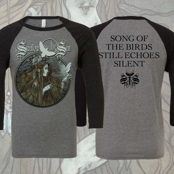 Swallow The Sun - 'Queen' Baseball T-Shirt - Swallow The Sun