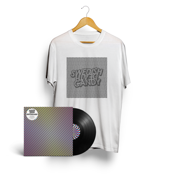 "Swedish Death Candy - 12"" Vinyl Album & New Logo T-Shirt (White) - Swedish Death Candy"