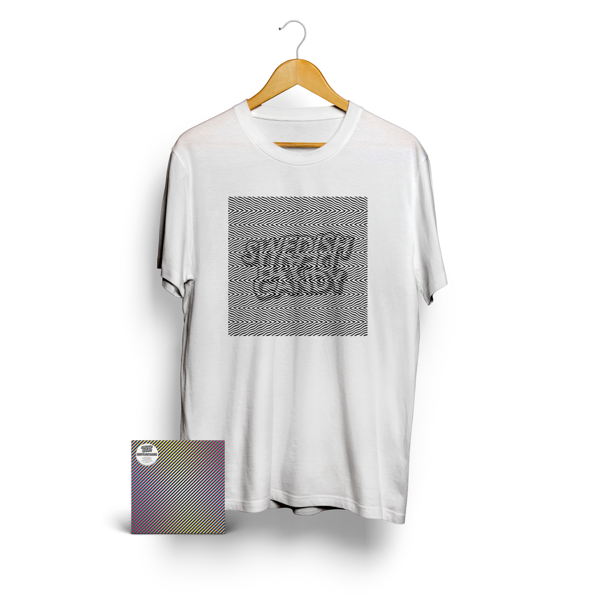 Swedish Death Candy - CD Album & New Logo T-Shirt (White) - Swedish Death Candy