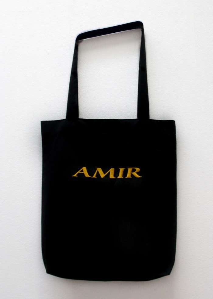 Totebag with Golden Embroidery - Tamino
