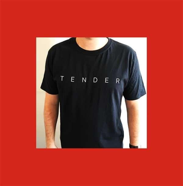 Logo T-Shirt - Black - TENDER