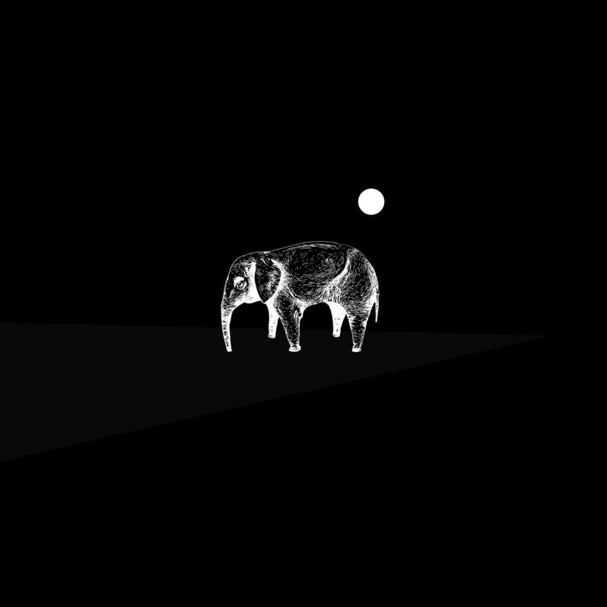 The Bad Tones / The Pink Elephant logo T-SHIRT -