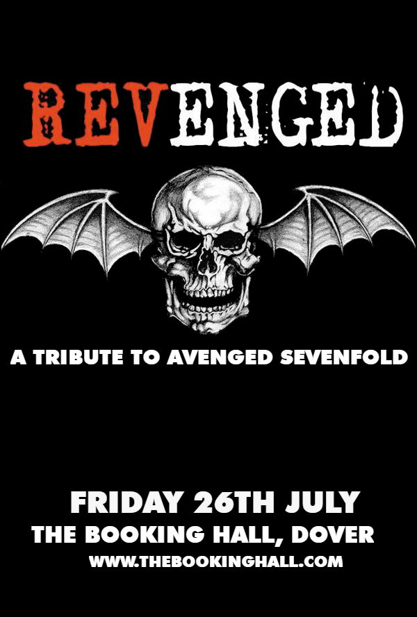 A Tribute to Avenged Sevenfold at The Booking Hall, Dover