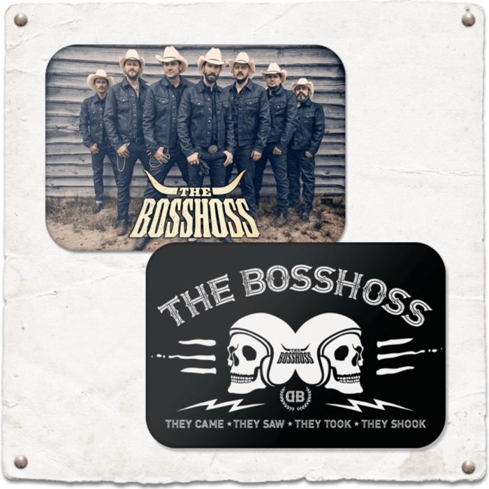 THE BOSSHOSS 2ER MAGNET SET - The Boss Hoss Merchandise