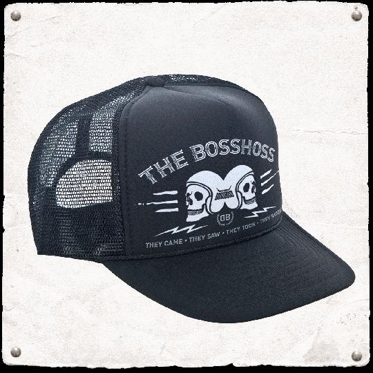 THE BOSSHOSS TRUCKER CAP - The Boss Hoss Merchandise
