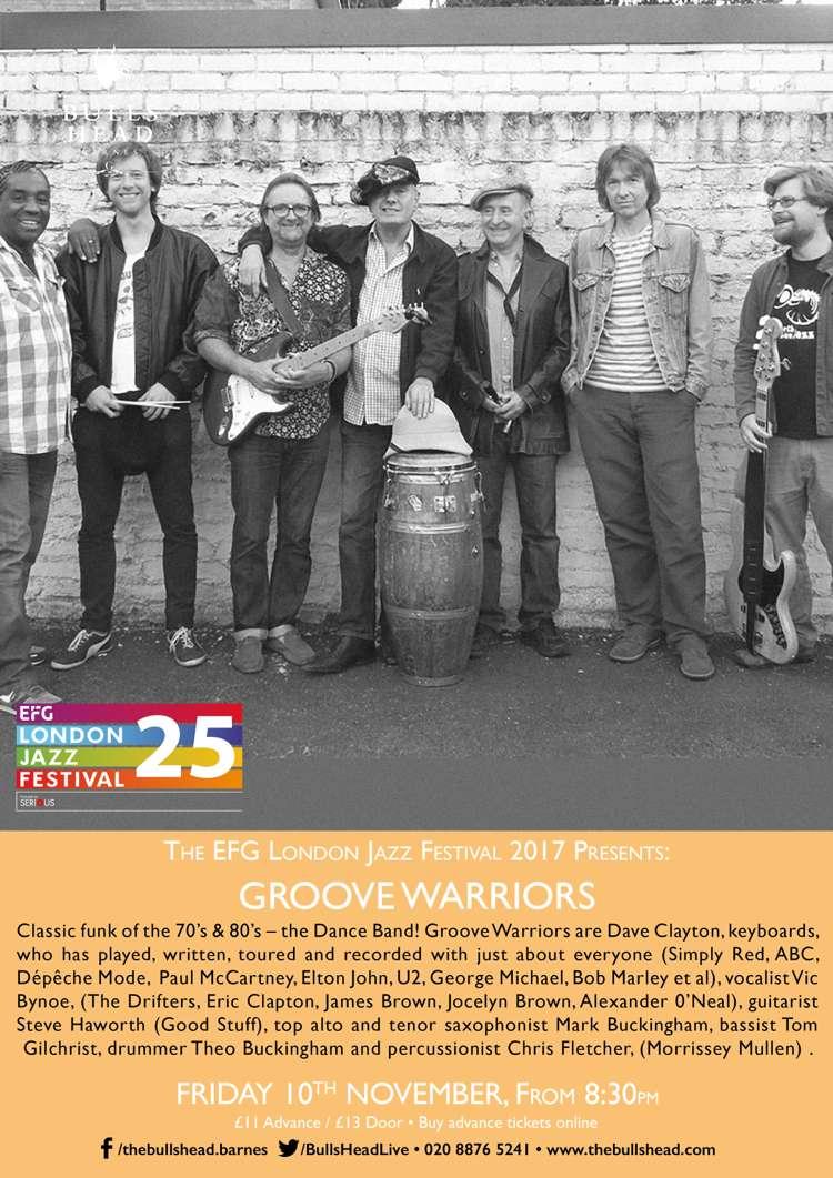 The EFG London Jazz Festival 2017 Presents at Bulls Head ...