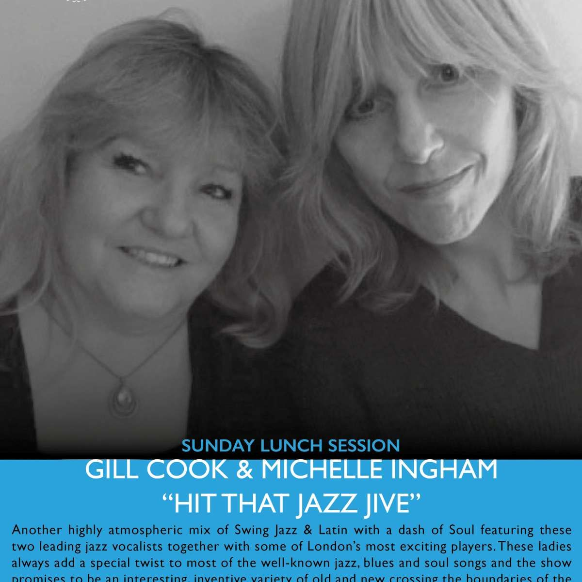 """Gill Cook & Michele Ingham """"Hit That Jazz Jive"""" on the"""