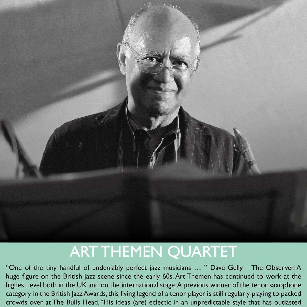 Art Themen Quartet at Bulls Head Barnes, London on 20 Oct 2017