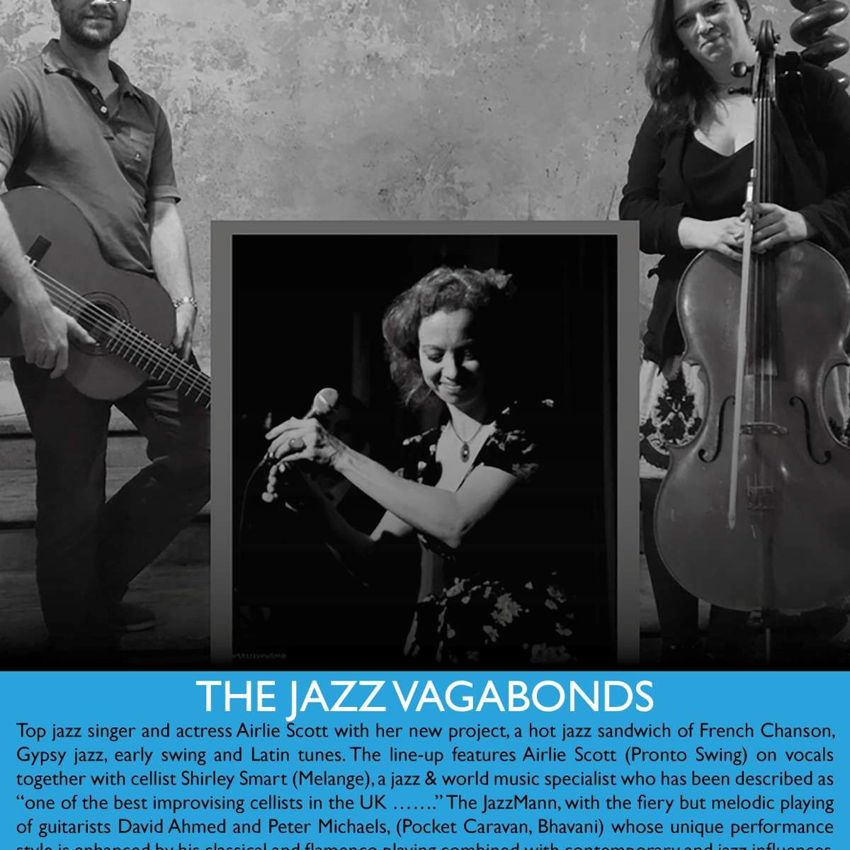 The Jazz Vagabonds at Bulls Head Barnes, London on 01 Nov 2018