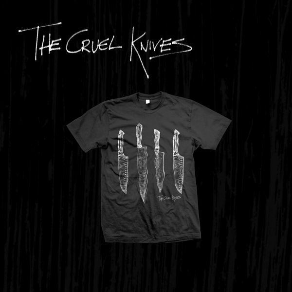 Four Knives T-Shirt - The Cruel Knives