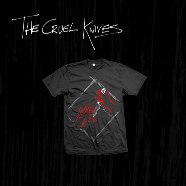 Knife Game T-Shirt - The Cruel Knives