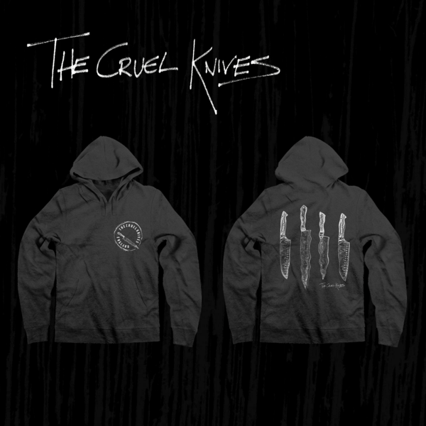 Knives Hoodie - The Cruel Knives