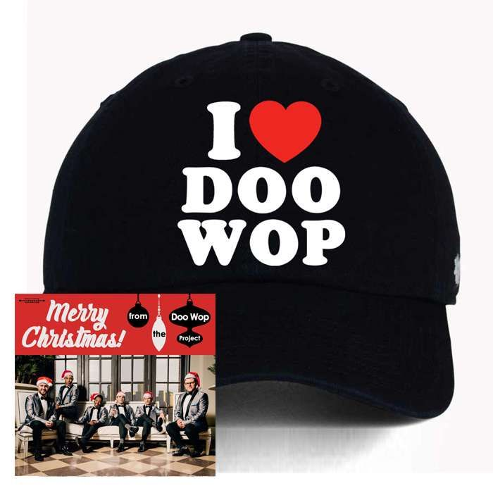 """Merry Christmas! from The Doo Wop Project"" CD + Hat - The Doo Wop Project"