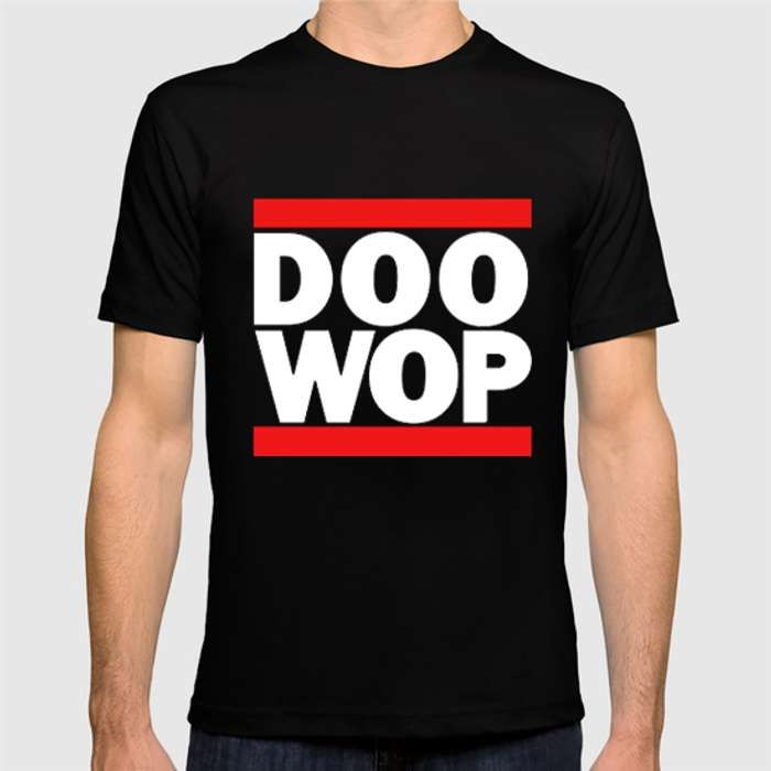 The Doo Wop Headline tee - The Doo Wop Project
