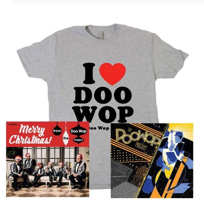 The Doo Wop Project 2 CD Bundle + T-Shirt - The Doo Wop Project