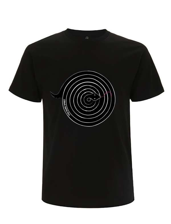 BLACK 'COILED SNAKE' EarthPositive® Shirt (Men's or Women's) - The Duke Spirit