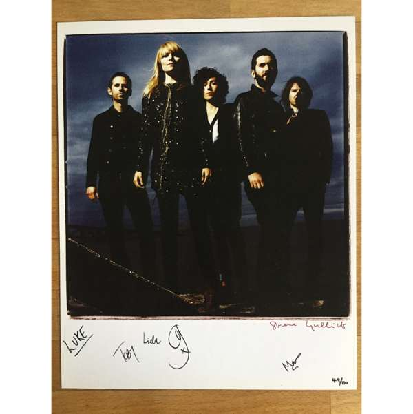 Ltd Edition SIGNED Steve Gullick 10x8 Print - The Duke Spirit