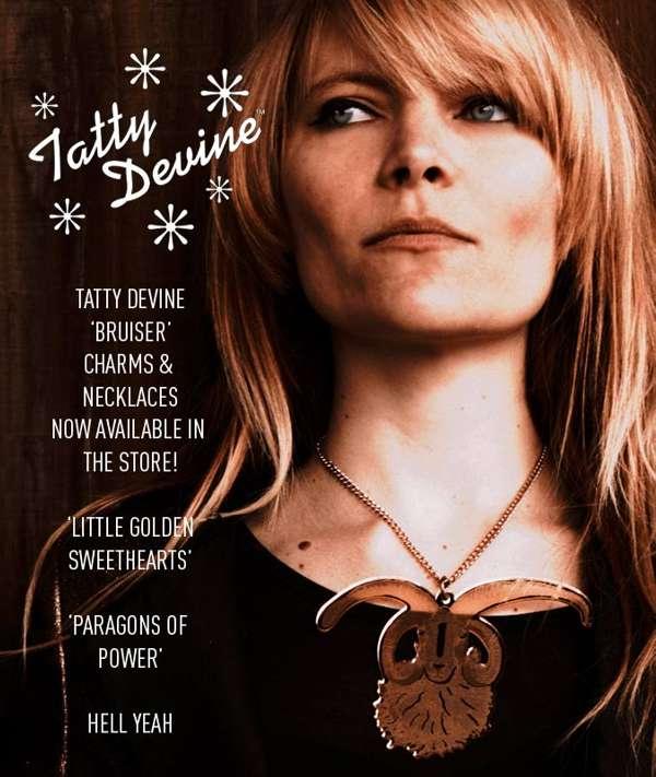 Tatty Devine 'Bruiser' Charm/Necklace - The Duke Spirit