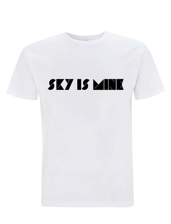 WHITE & BLACK 'SKY IS MINE' EarthPositive® Shirt (Men's or Women's) - The Duke Spirit