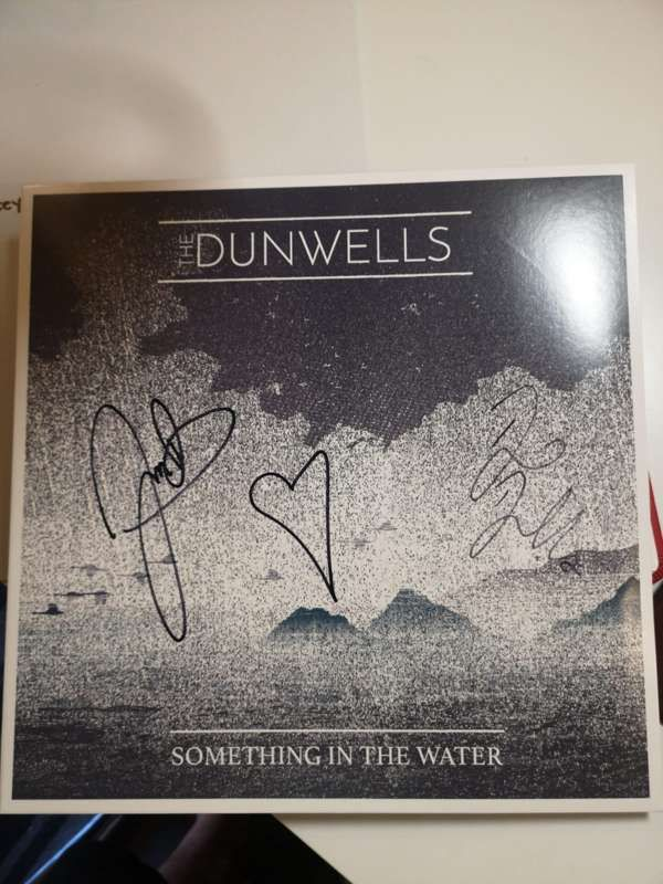 Signed Something in the Water Vinyl - The Dunwells
