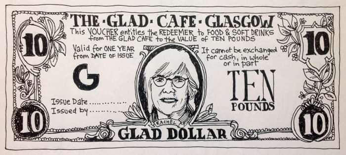 10 Glad Dollars! Gift Voucher - The Glad Cafe