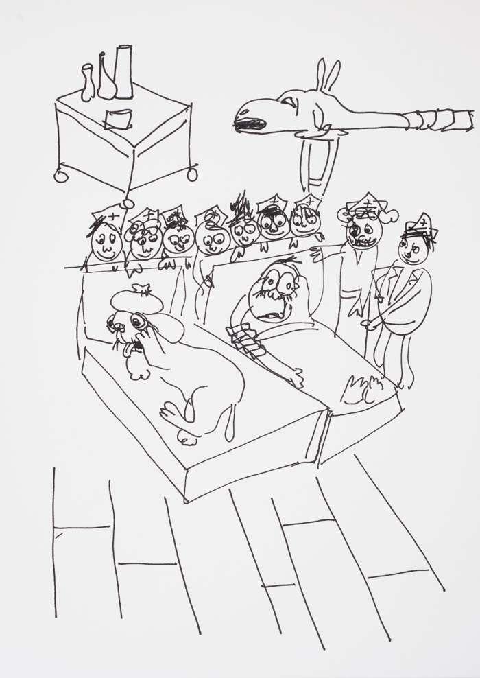 Monster Chetwynd 'Dogsy Ma Bone' - The Glad Cafe