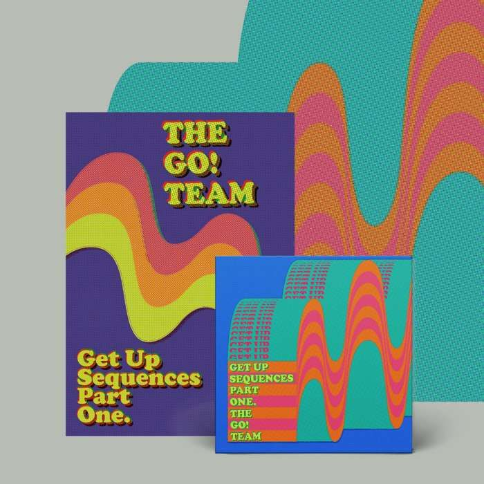 Get Up Sequences Part One -  CD & screen print poster - The Go! Team US