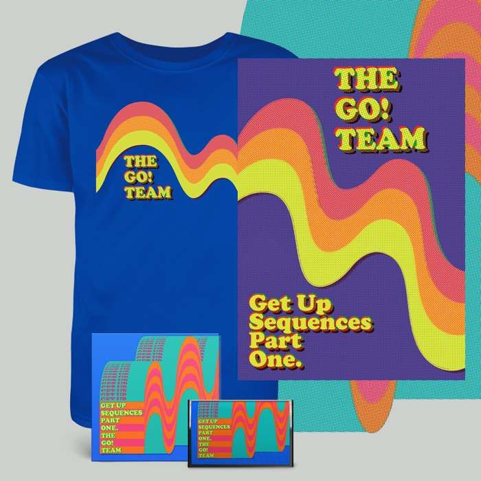 Get Up Sequences Part One - CD, cassette,  download, t-shirt & screen print - The Go! Team US