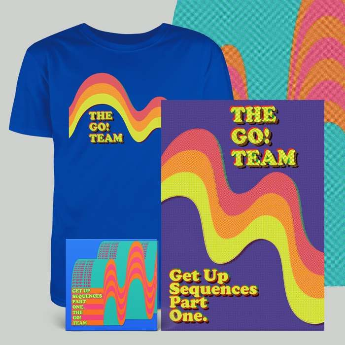 Get Up Sequences Part One - CD, download, t-shirt & screen print - The Go! Team US
