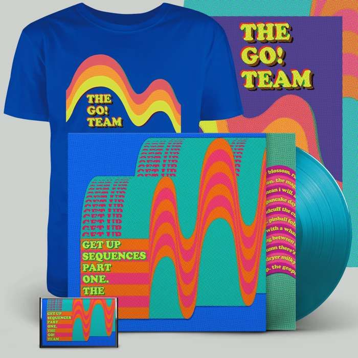 Get Up Sequences Part One - LP, cassette, download, t-shirt & screen print - The Go! Team US
