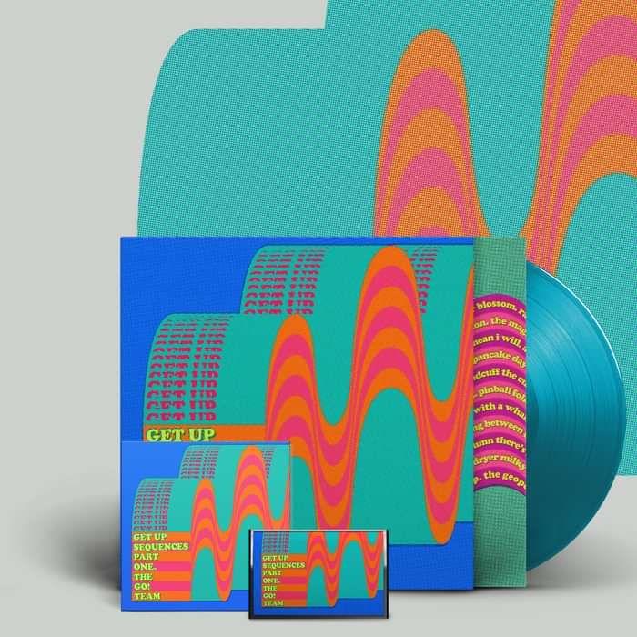 Get Up Sequences Part One -  LP, CD, cassette & download - The Go! Team US