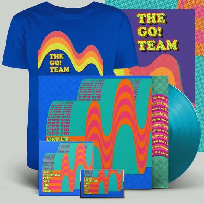 Get Up Sequences Part One - LP, CD, cassette, download, t-shirt & screen print - The Go! Team US