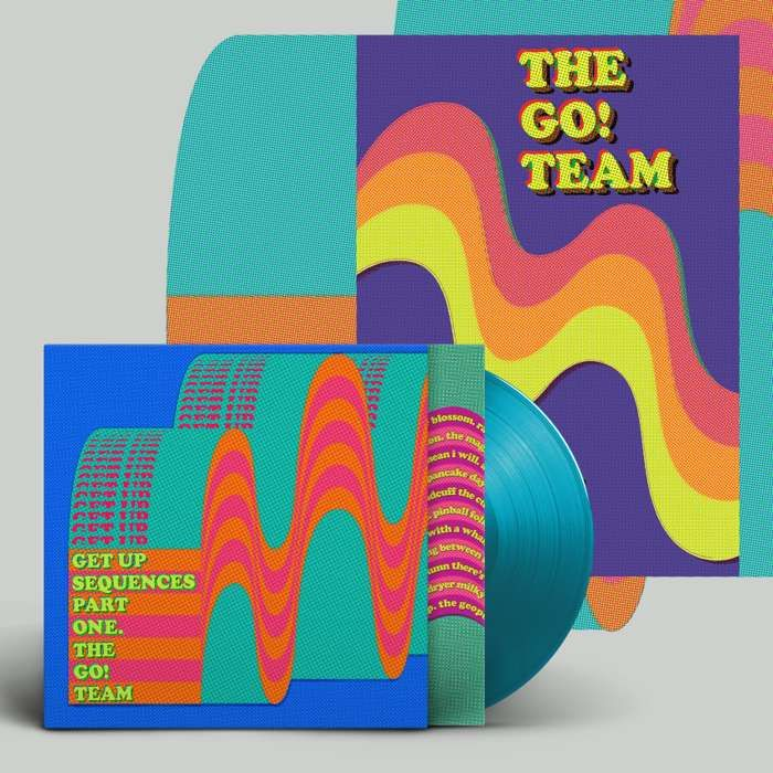 Get Up Sequences Part One -  LP, download & screen print - The Go! Team US