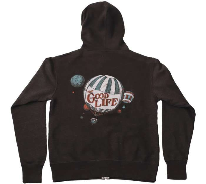Balloon Zip Hoodie - The Good Life
