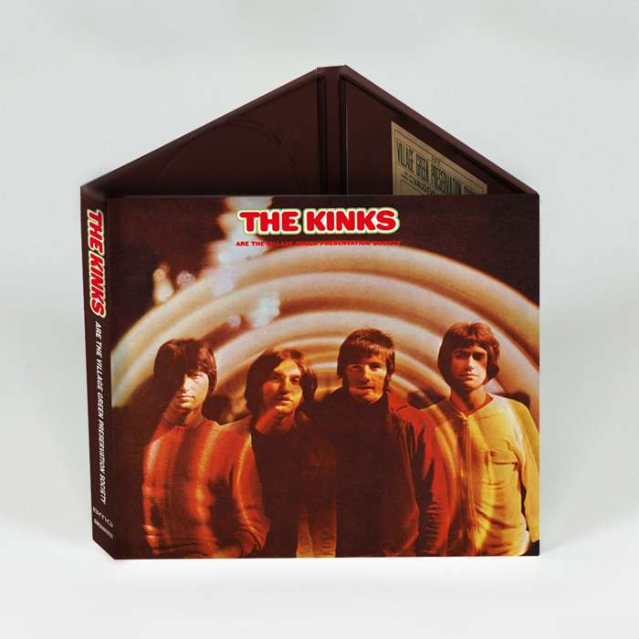 The Kinks Are The Village Green Preservation Society [CD] 2018 - The Kinks (USA)