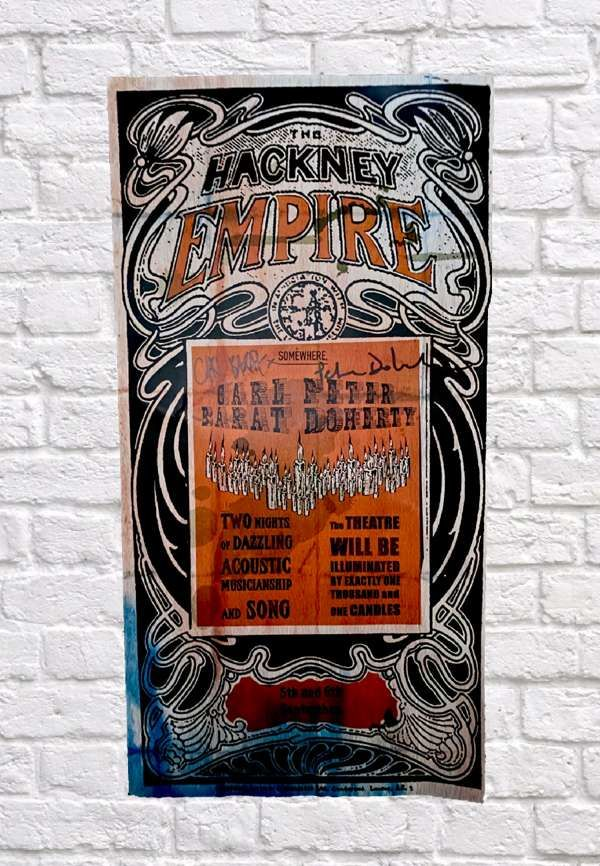 Hackney Empire Signed Poster *LIMITED NUMBERS* - The Libertines
