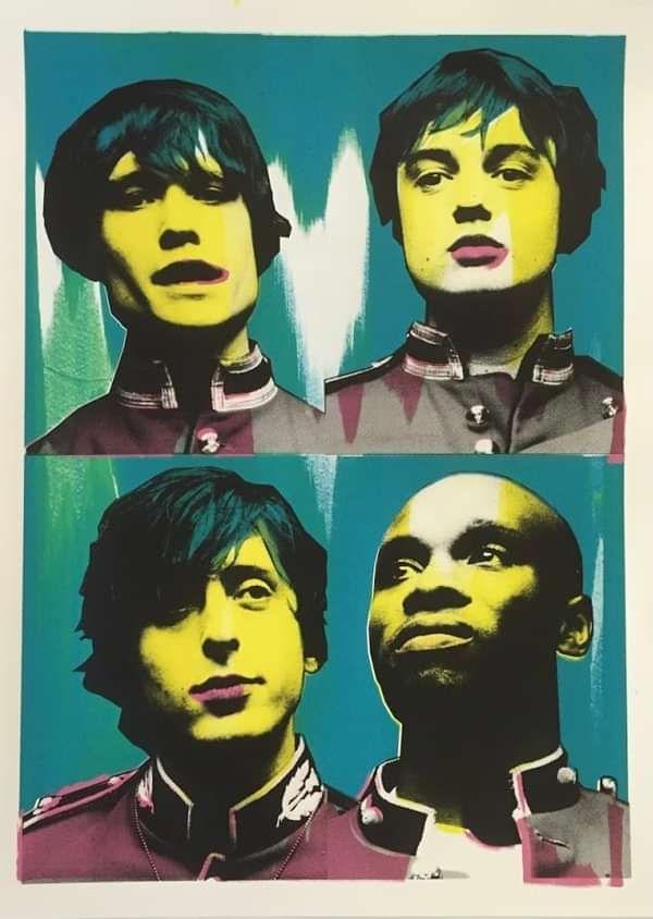 Limited Edition Pop Art Prints - The Libertines