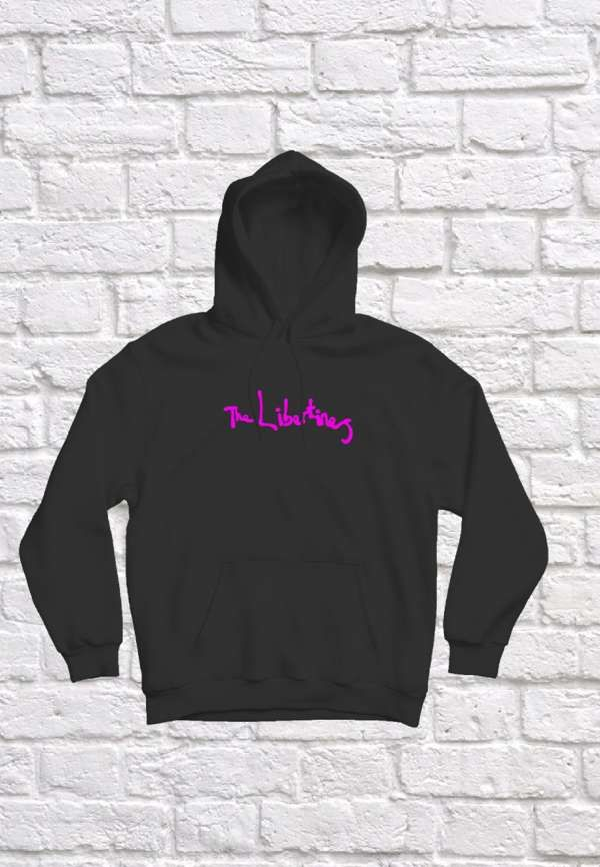 Pink Logo Hoodie - The Libertines