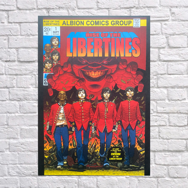 Rise Of The Libertines Print - The Libertines