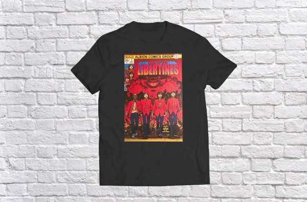Rise of The Libertines Tee - The Libertines