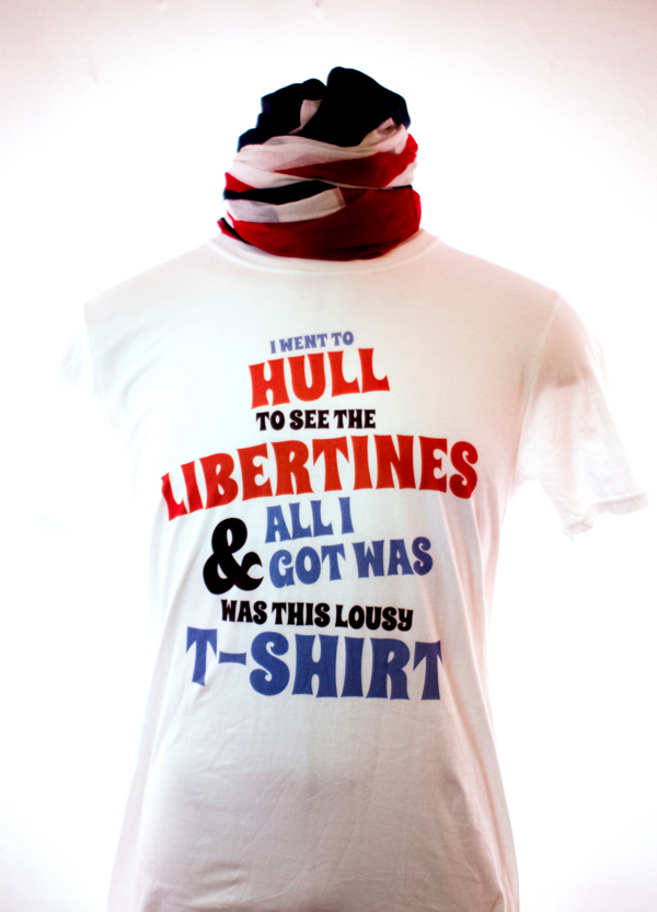 SALE!!! I Went to Hull T-Shirt - The Libertines