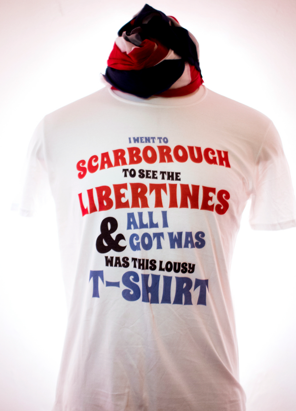 SALE!!! I Went to Scarborough T-Shirt - The Libertines
