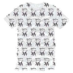 SALE!!! Skull White T-Shirt - The Libertines