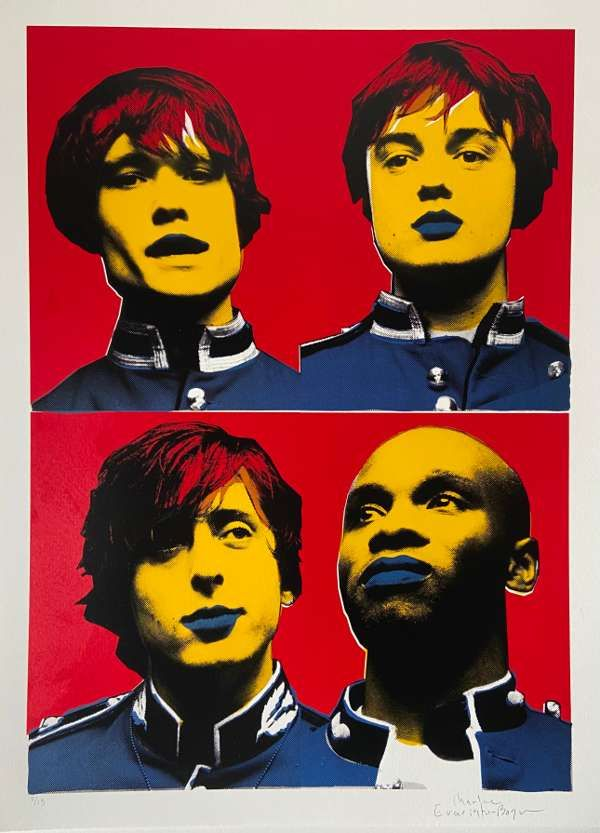 The Libertines Pop Art Prints - Albion Rooms Edition - The Libertines