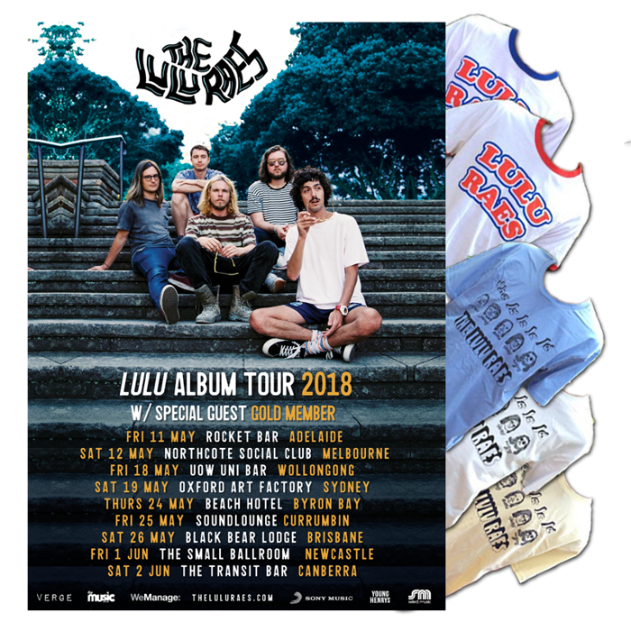 Ticket + Tee - The Lulu Raes