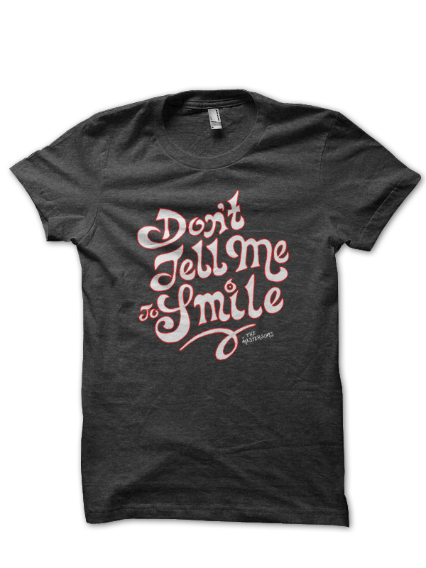 Ladies Smile Tee - The Mastersons