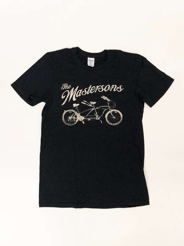 *On Sale* Tandem Bicycle Tshirt - The Mastersons