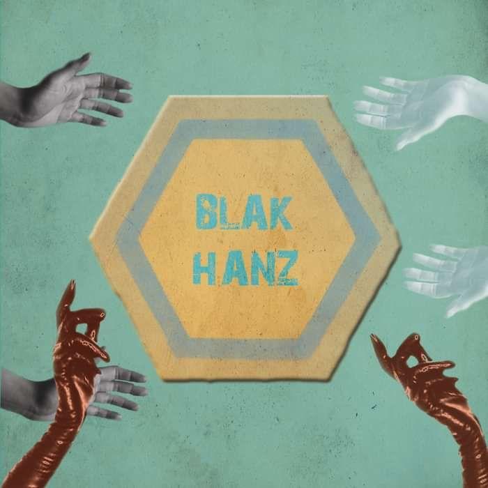 """Black Hanz EP - 10"""" - The Moonlandingz"""